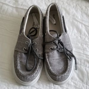 Old Navy Chambray Boat Shoes